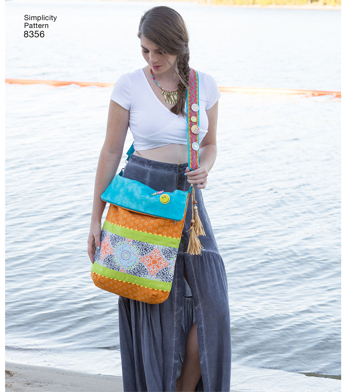 Simplicity Pattern 8356 Festival Bags in Four Sizes