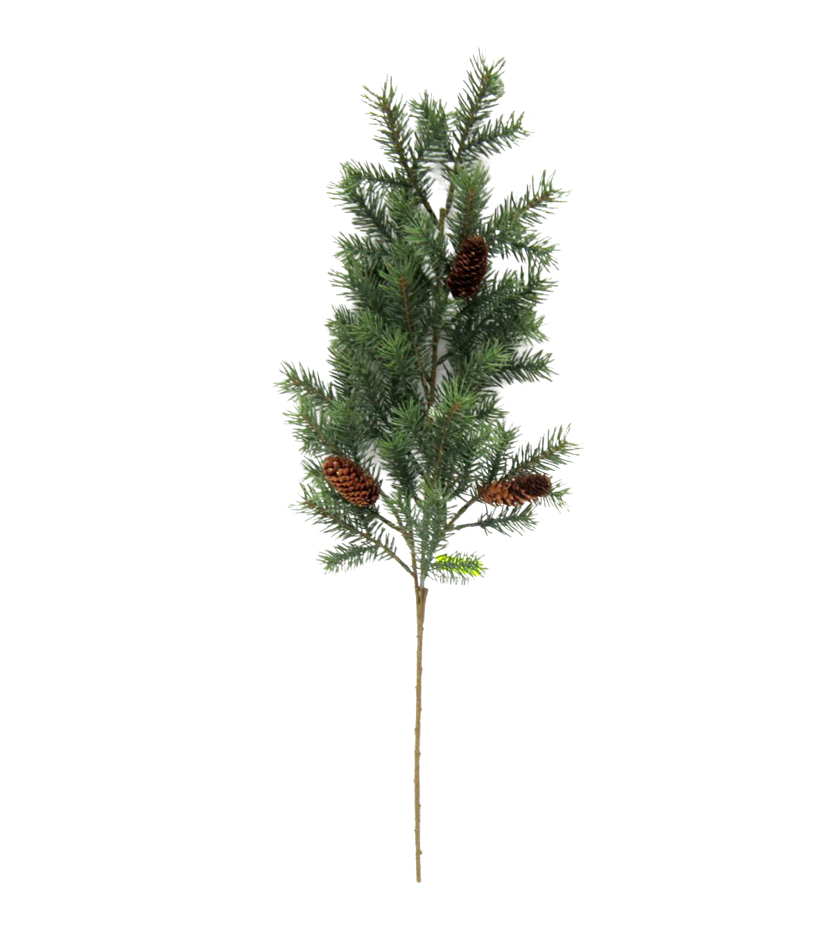 Blooming Holiday Christmas 18\u0027\u0027 Angel Pine with Pinecone Spray