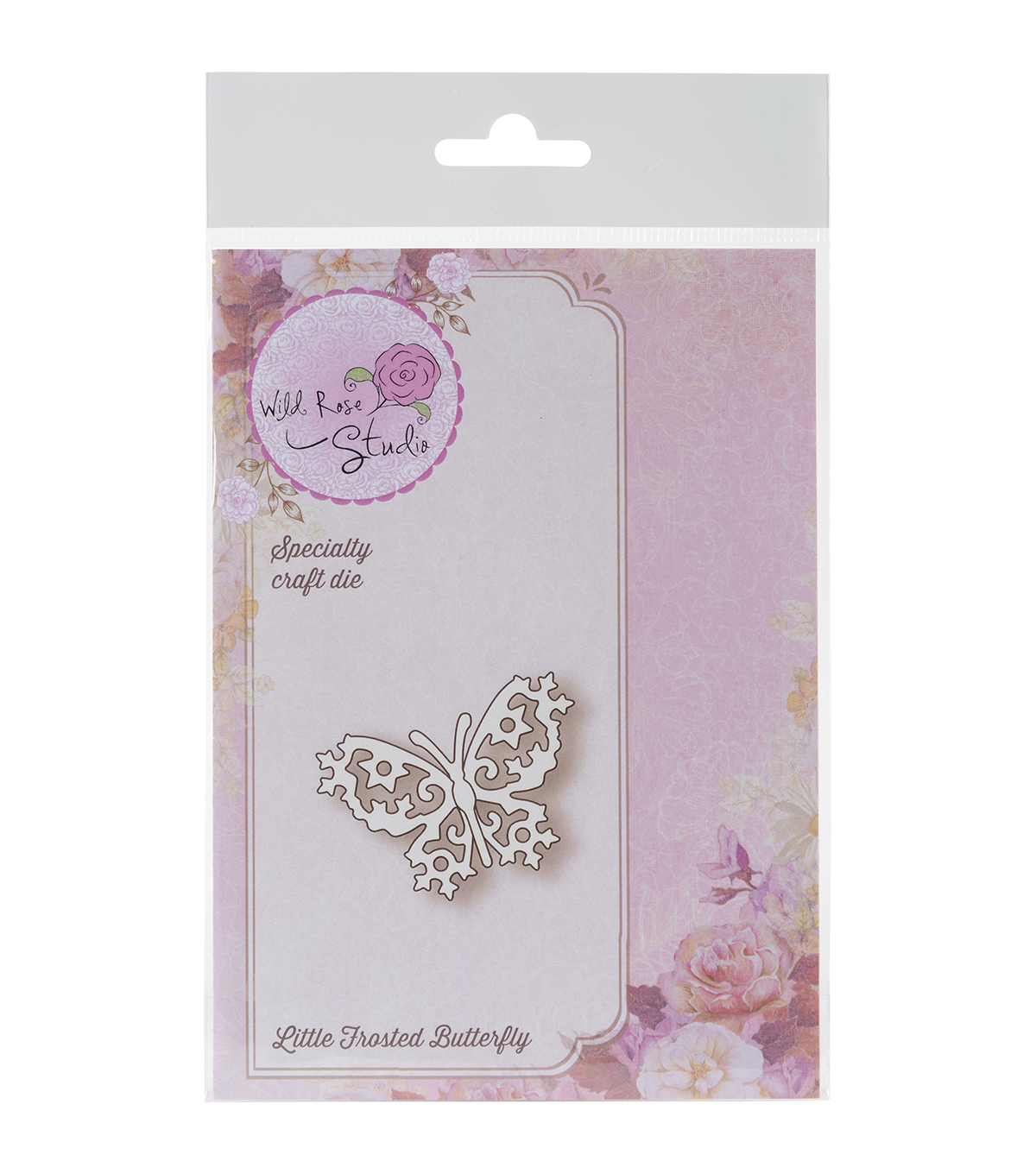 Wild Rose Studio Specialty Die-Little Frosted Butterfly
