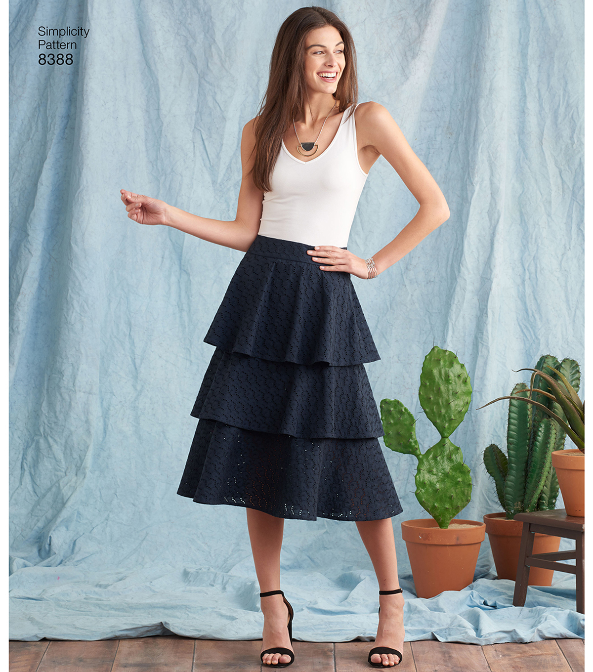 Simplicity Pattern 8388 Misses\u0027 Skirts-Size R5 (14-16-18-20-22)