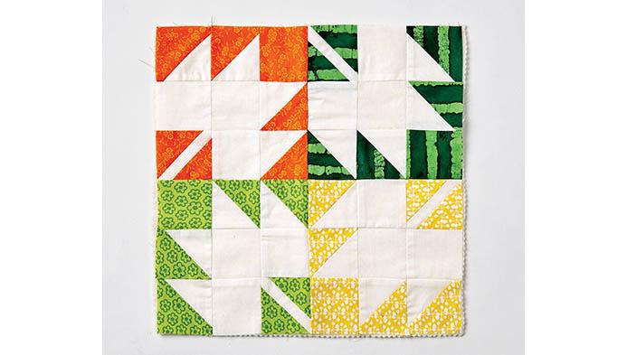 Inverted Quilt Block