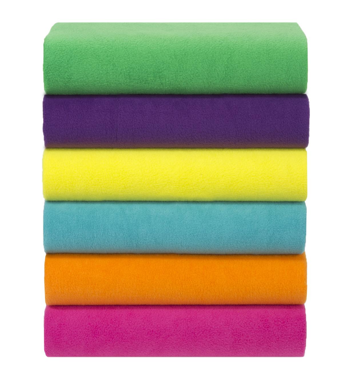 Anti-Pill Fleece Fabric -Solids