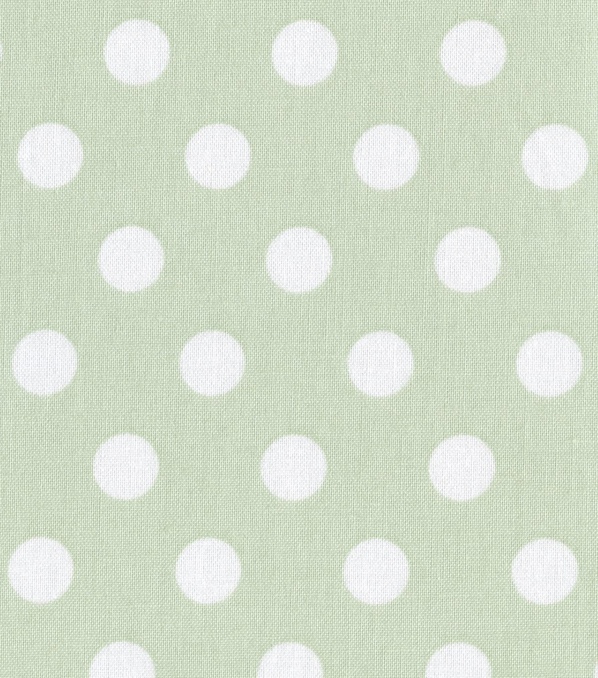 Nursery fabric babybasics dot print joann for Nursery fabric sale