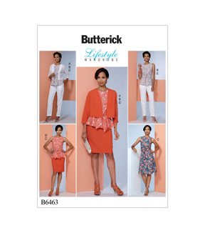 Butterick Pattern B6463 Misses\u0027 Apparel-Size 14-16-18-20-22