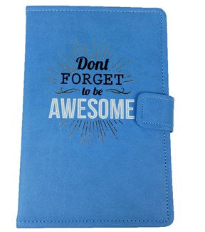 Park Lane 6.75\u0027\u0027x9.5\u0027\u0027 Journal-Don't Forget to be Awesome on Blue