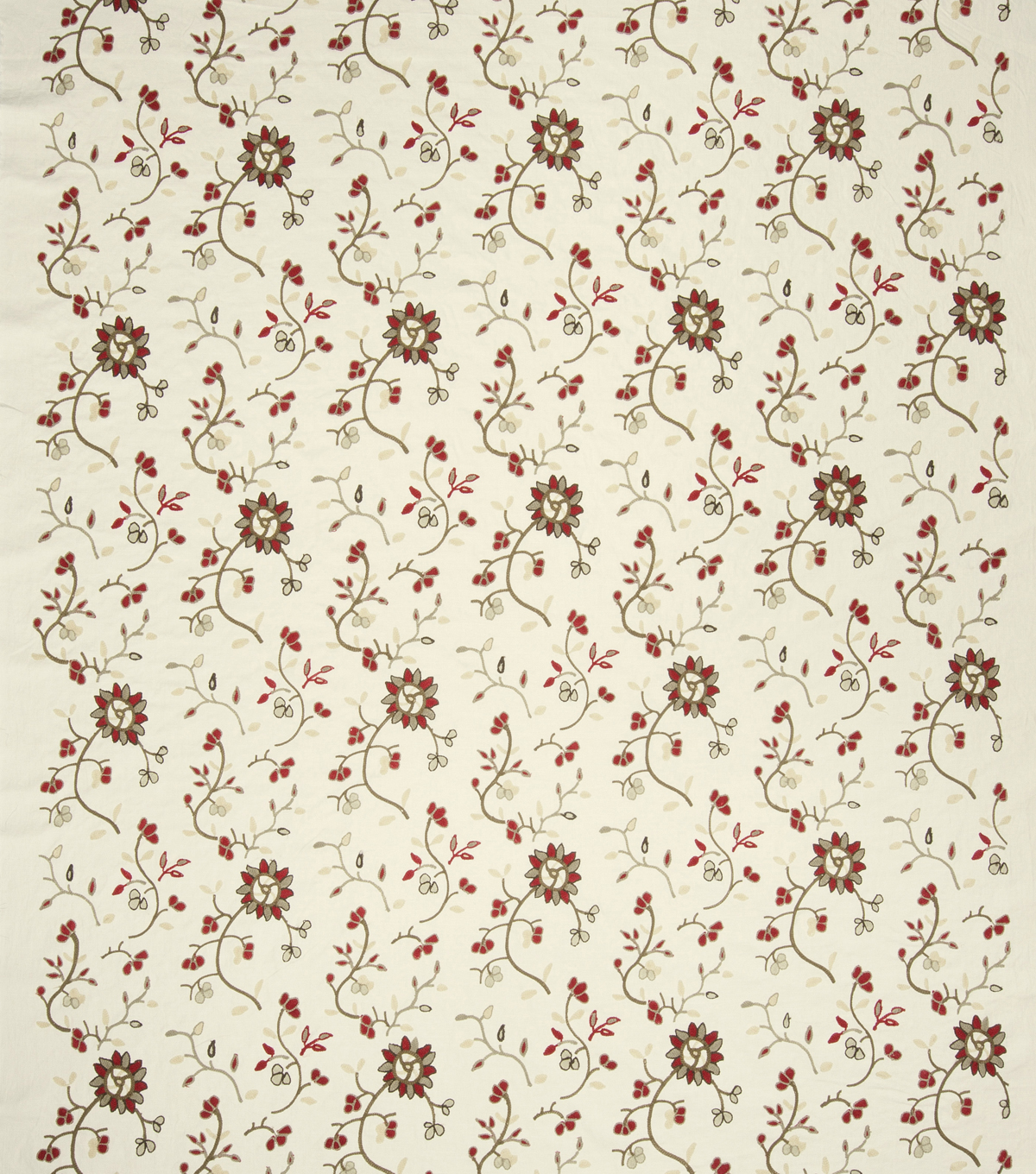 French General Lightweight Decor Fabric 51\u0022-Caspian/Rural Red