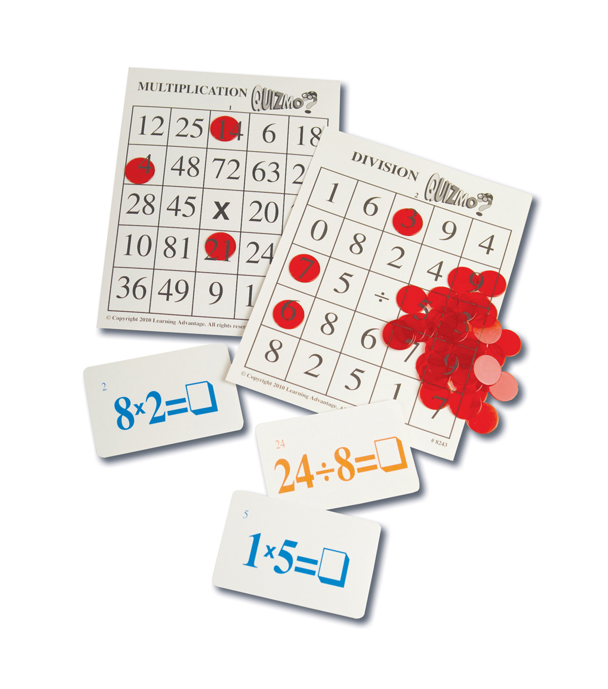 Multiplication & Division Quizmo Game