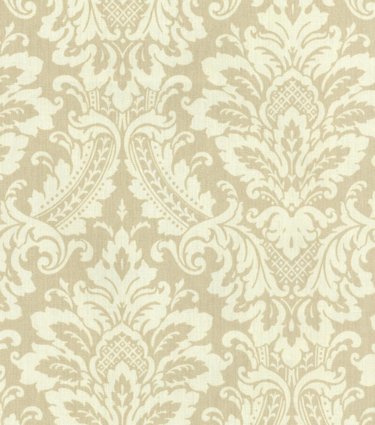 Waverly Upholstery Fabric 54\u0022-Donnington/Linen