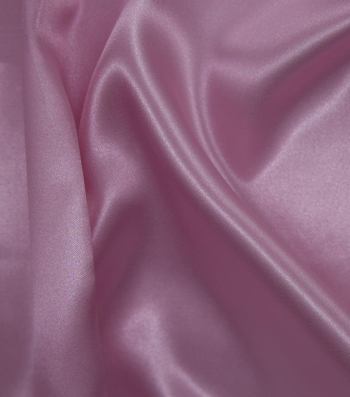 Glitterbug Satin Fabric -Solid Light Pink
