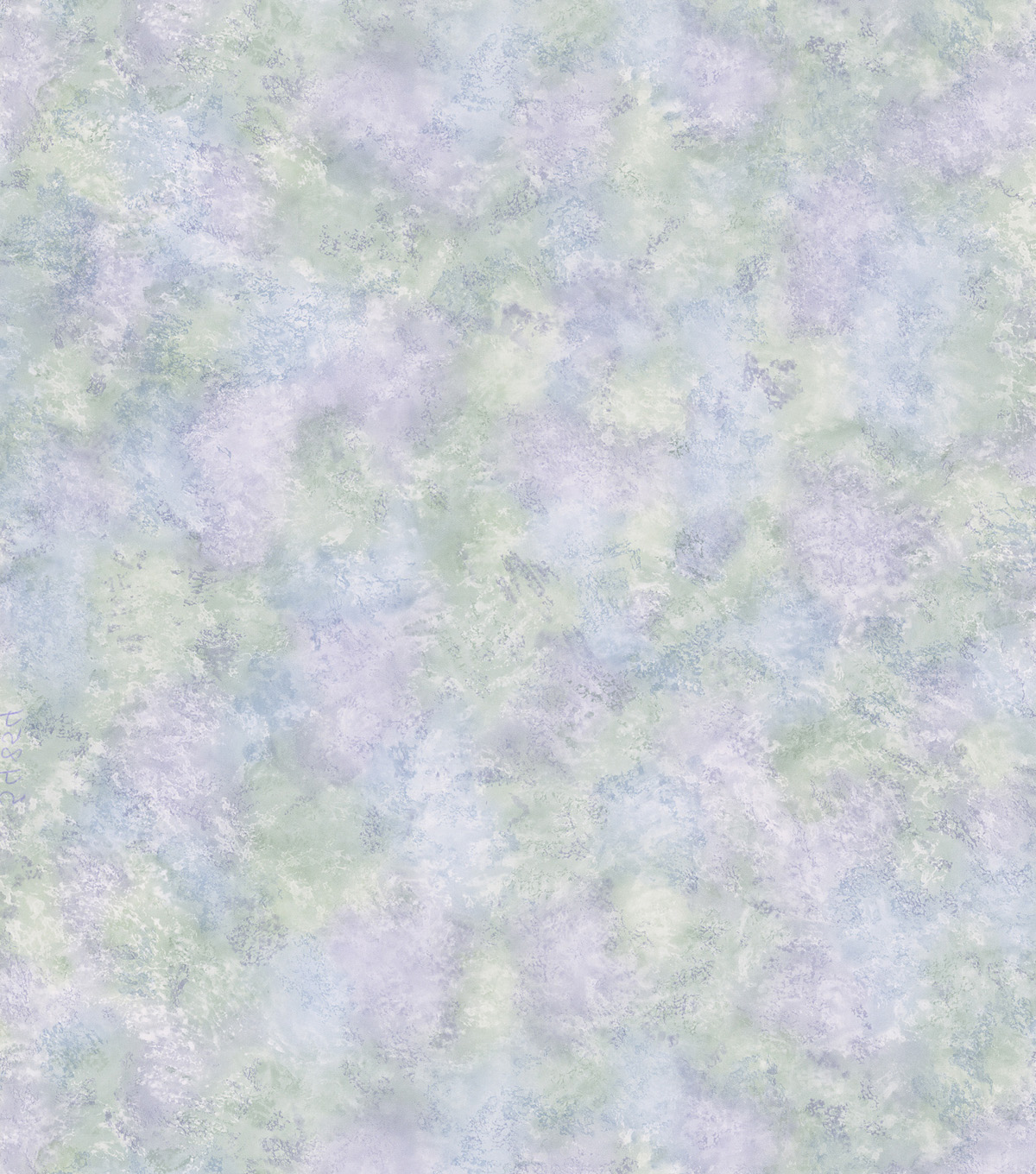Cielo Blue Gauzy Texture Wallpaper Sample