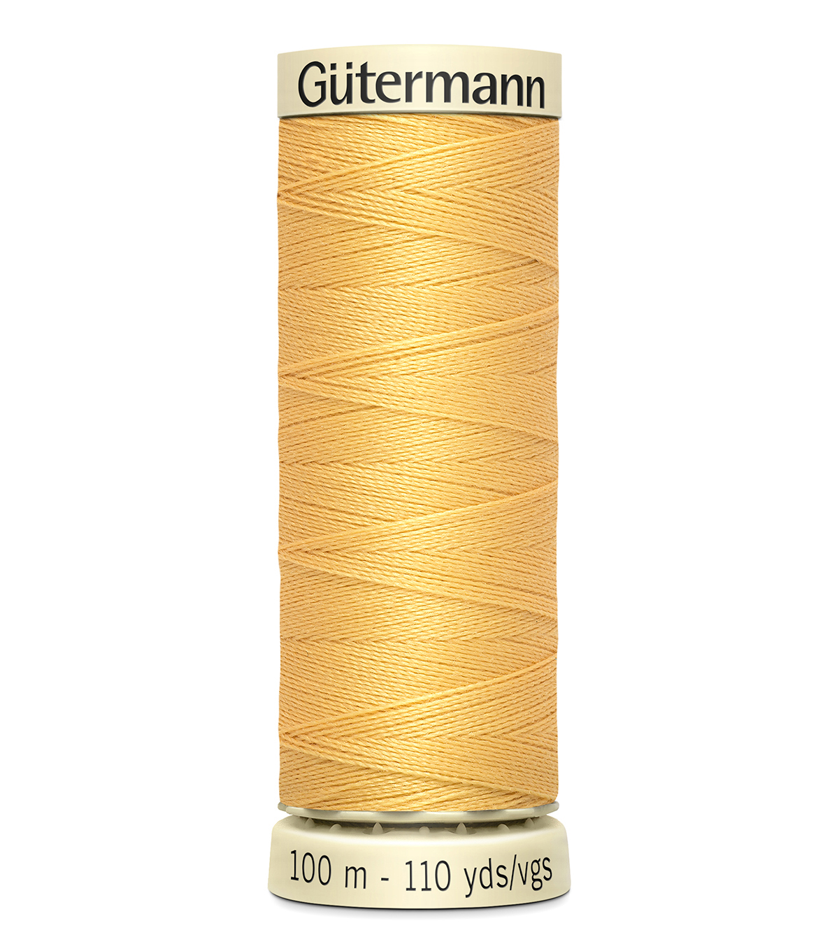 Gutermann Sew All Polyester Thread 110 Yards-Oranges & Yellows , Dusty Gold #827