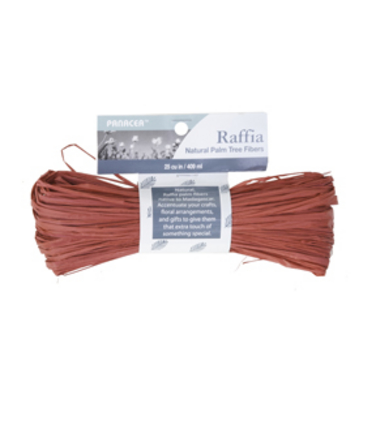 Panacea Products Red Raffia-25 cu in
