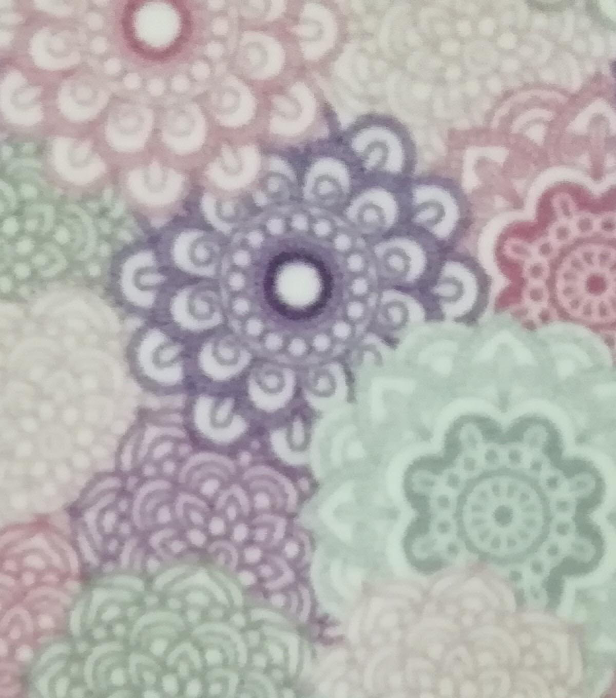 Super Fleece Fabric -Bali Medallions