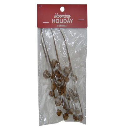 Blooming Holiday Christmas 8 pk Bell Pips-Rust