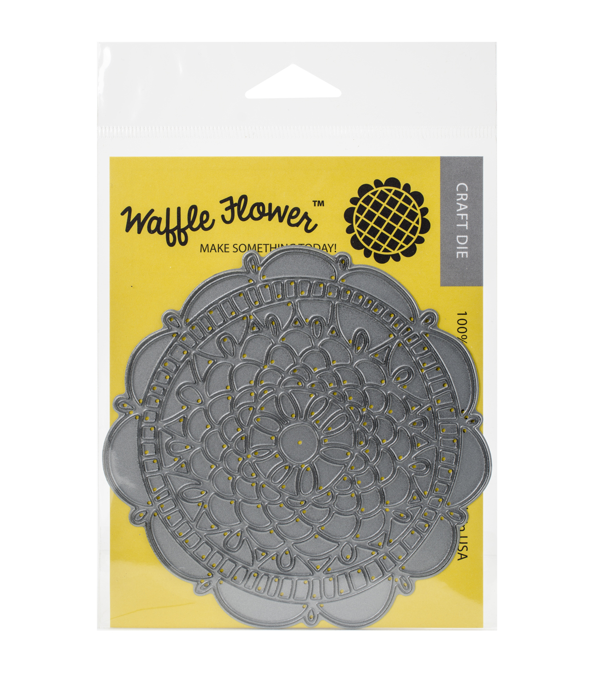 Waffle Flower Crafts Die-Doily Circle
