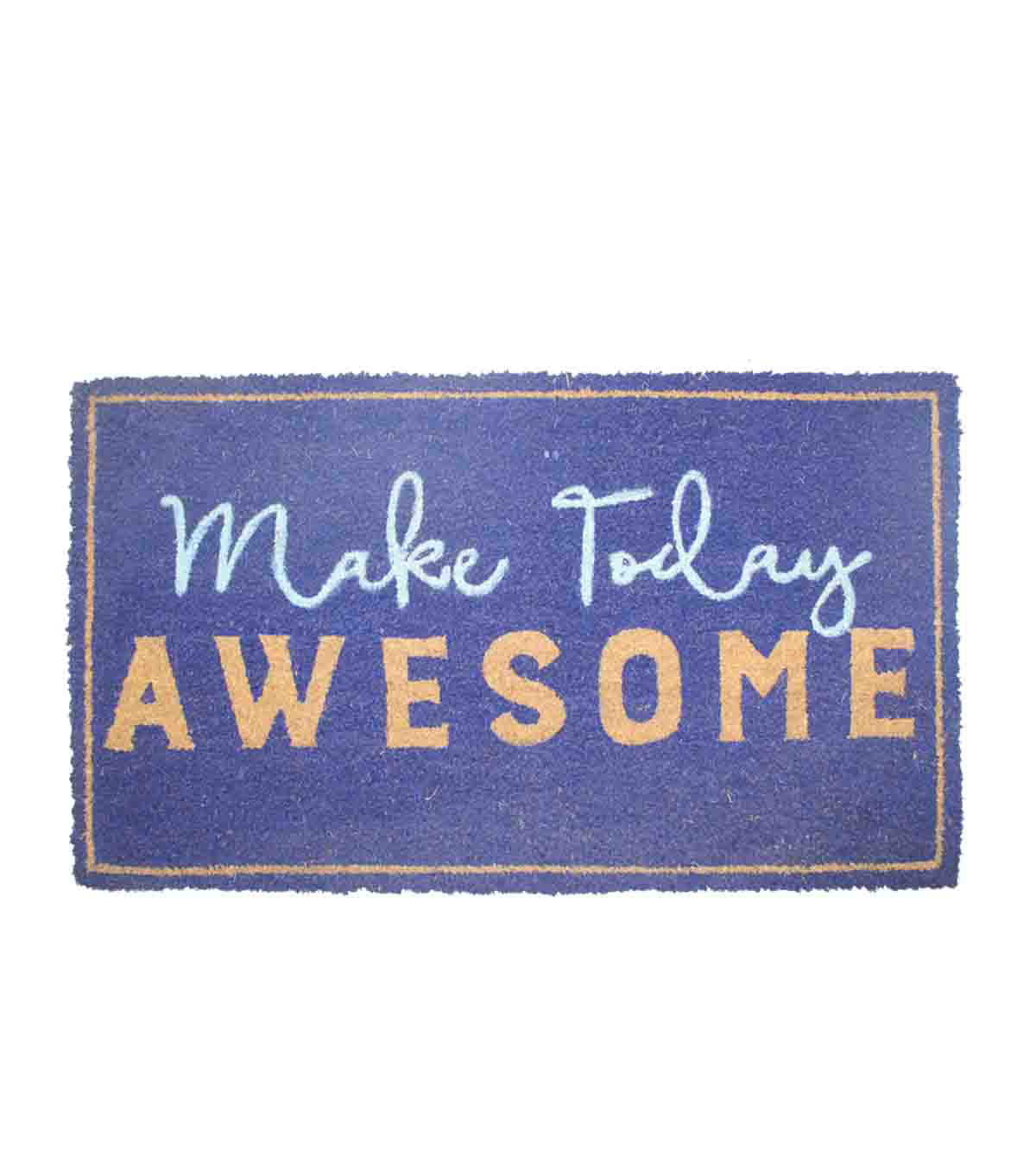 In the Garden Tufted Coir Mat-Make Today Awesome