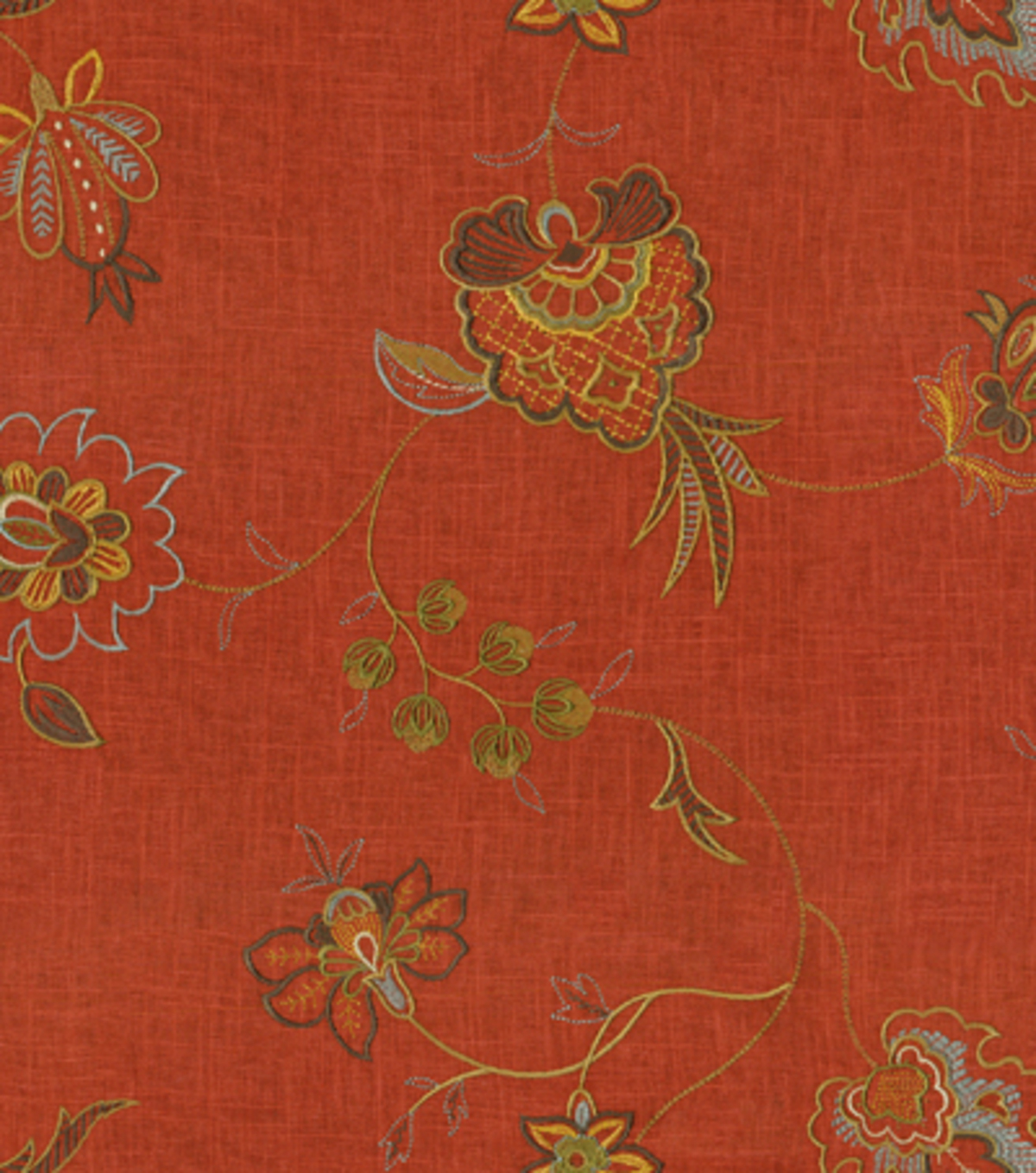 Upholstery Fabric Waverly Crown Jewel Gingersnap Joann