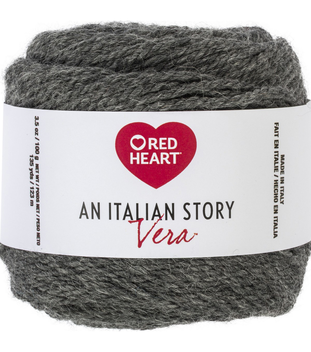 Red Heart An Italian Story Vera Yarn, Pietra