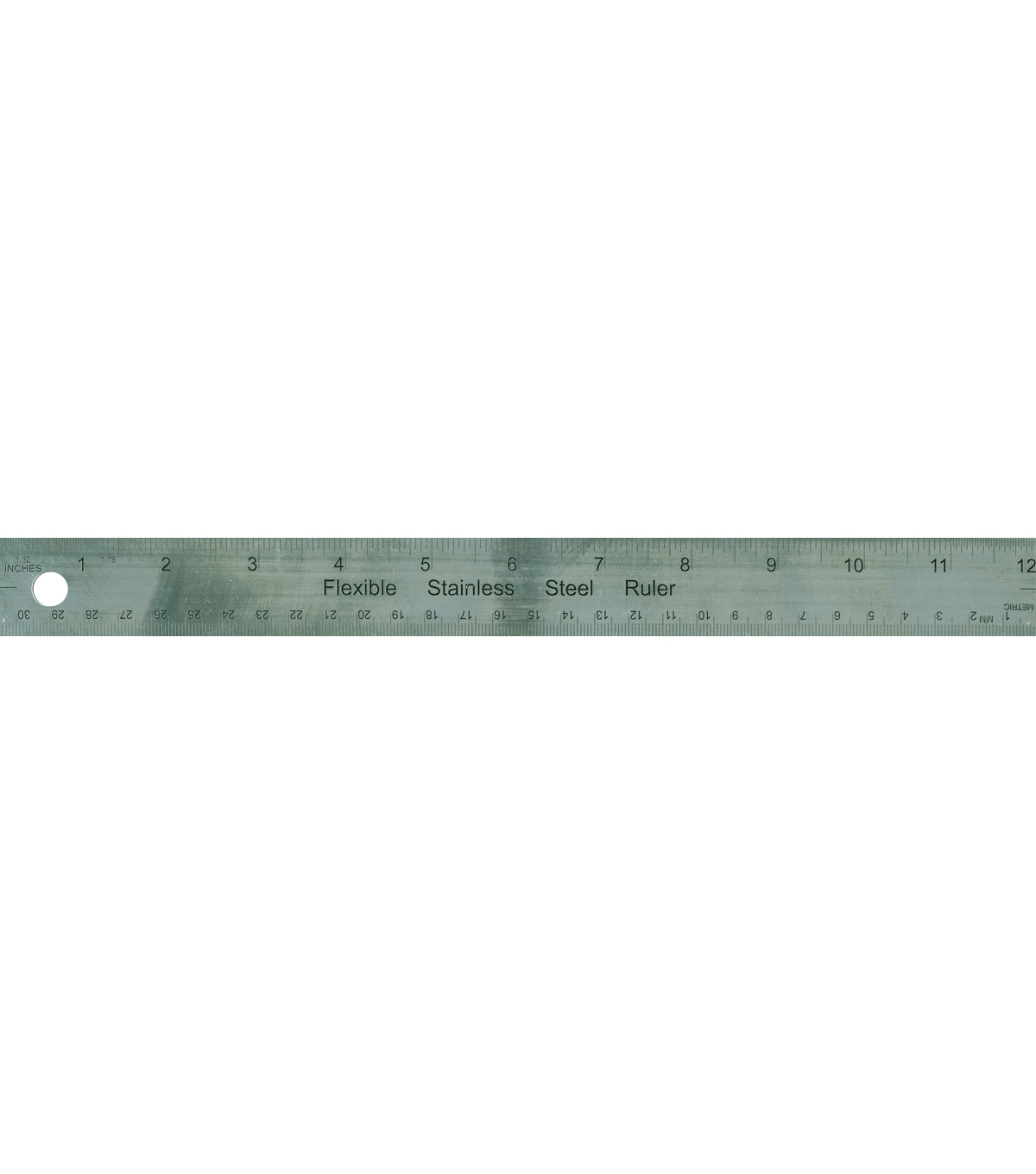 Metal Ruler 12\u0022-Cork Back
