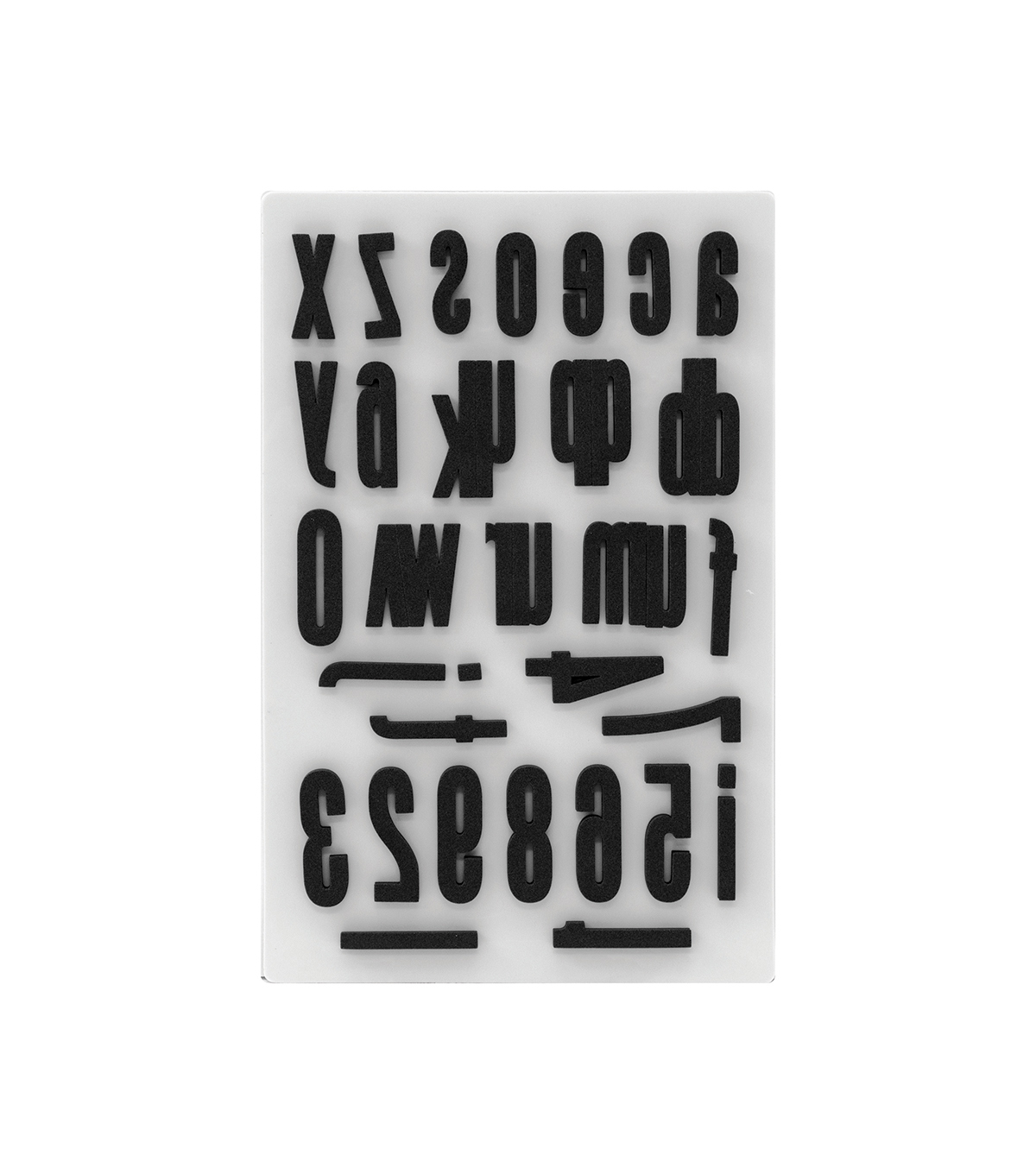 Tim Holtz Idea-ology Pack of 36 Cling Foam Stamp-Block Lower
