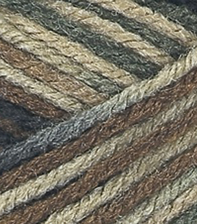 Red Heart Classic Yarn-Camouflage Multipack of 12