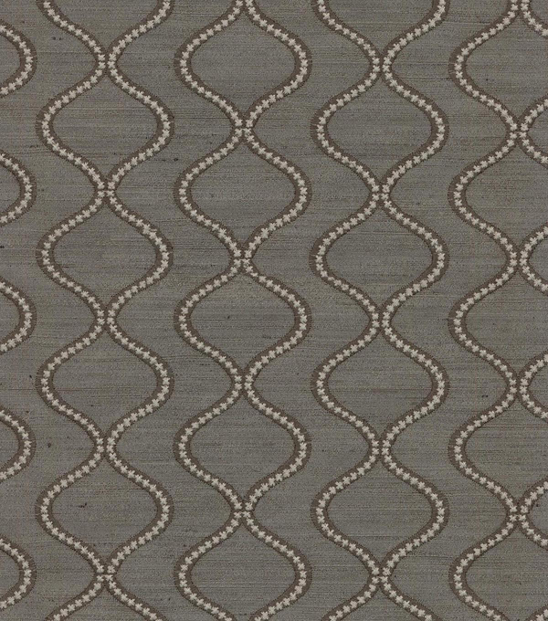 Waverly Multi-Purpose Decor Fabric 55\u0022-Cosmic Way Emb/Charcoal