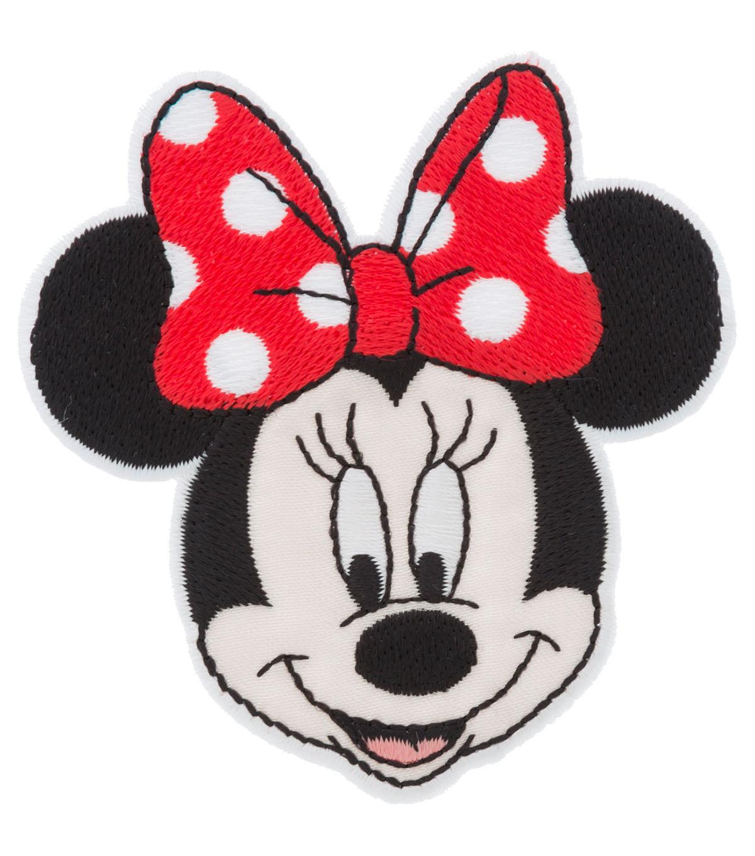 c353c1ed43e Disney Minnie Mouse Iron-On Applique