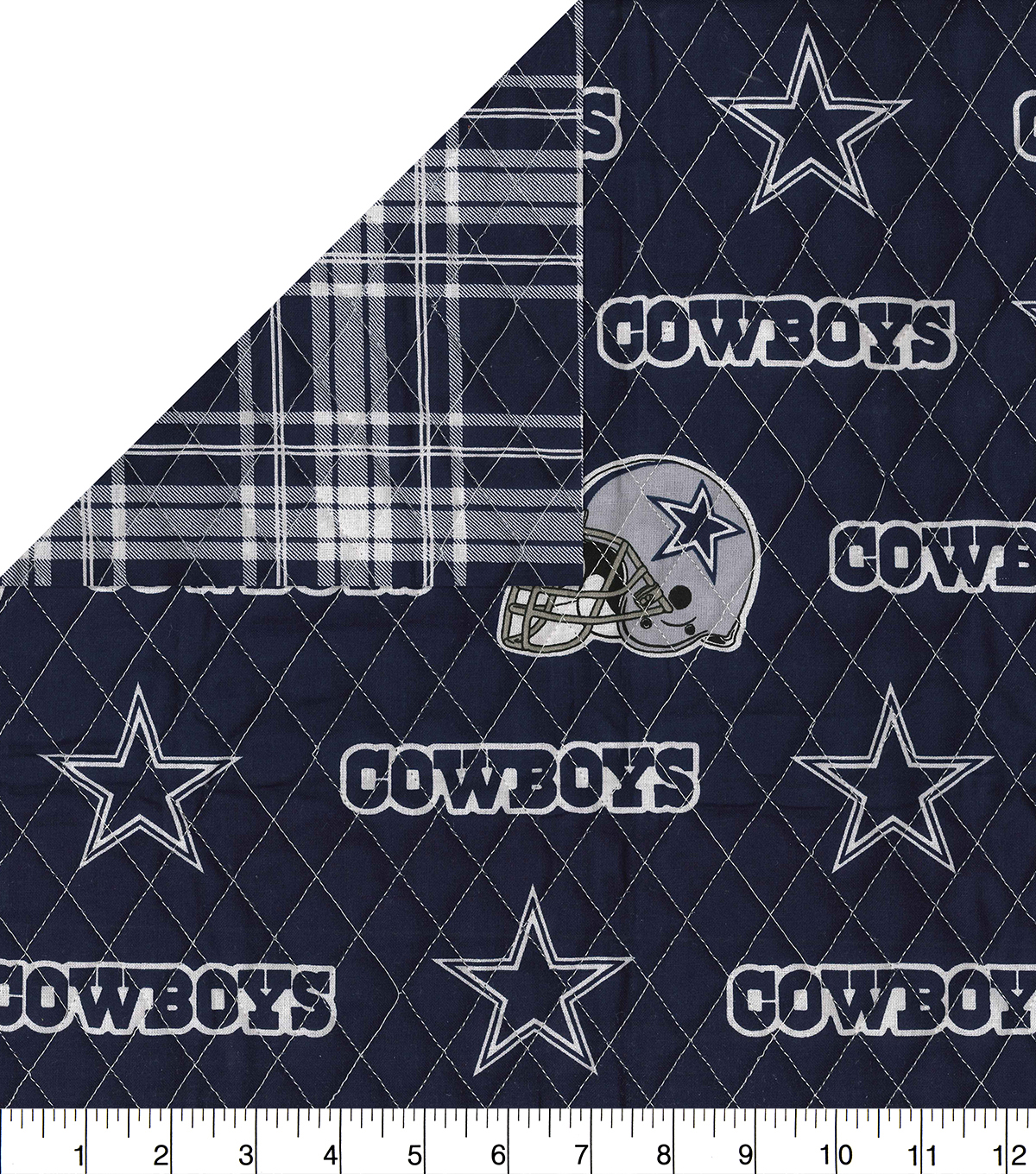 2fa9b9eea Dallas Cowboys Double Faced Quilt Fabric