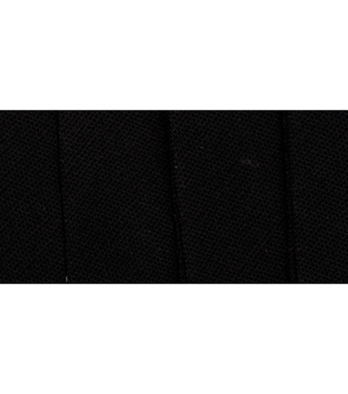 Wrights Extra Wide Double Fold Bias Tape, Black