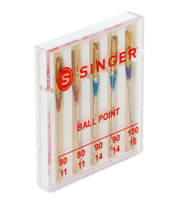 Size 10 /& 14 Singer Serger Ball Point Needles