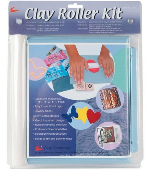 Modeling Clay Roller Kit