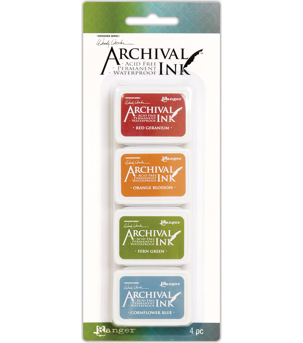 Ranger Wendy Vecchi Mini Archival Ink Pad Kit #4