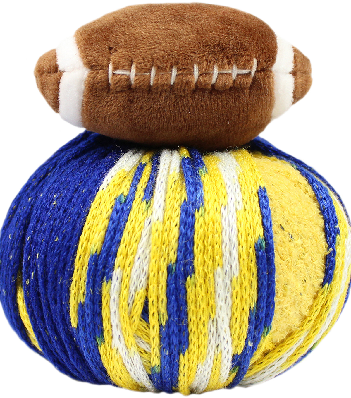 DMC Top This! Team Colors Yarn-Blue & Gold