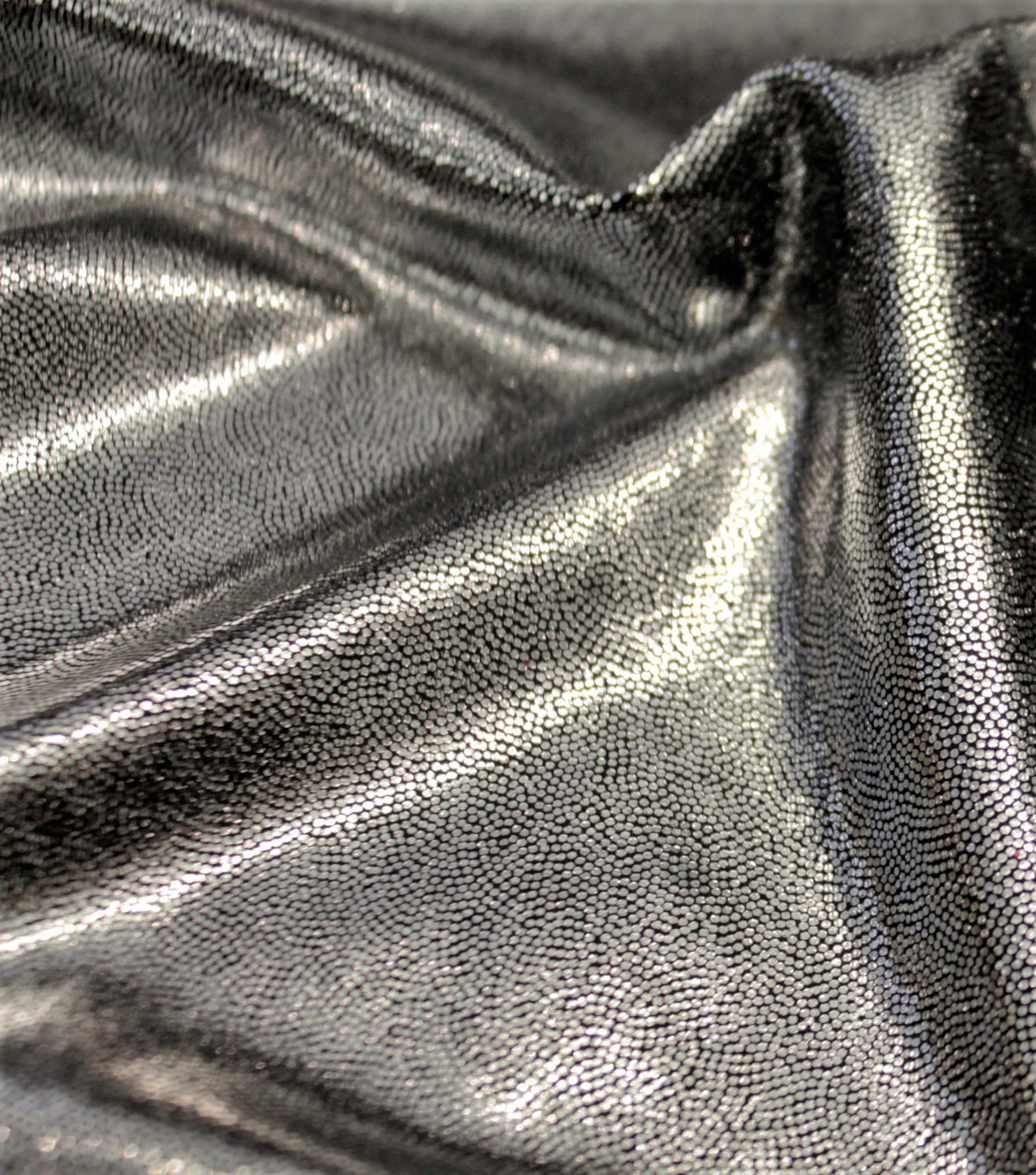Performance Mystique Fabric -Black & Silver