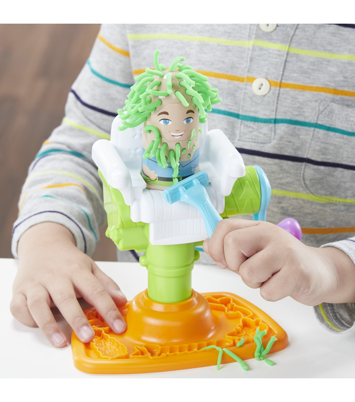 acef8dbc0fd Play-Doh Buzz 'n Cut Barber Shop Playset | JOANN