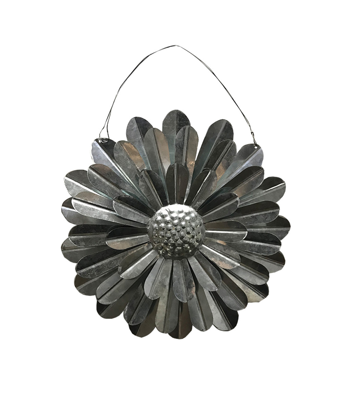 Simply Spring Craft Metal Decor-Flower Large