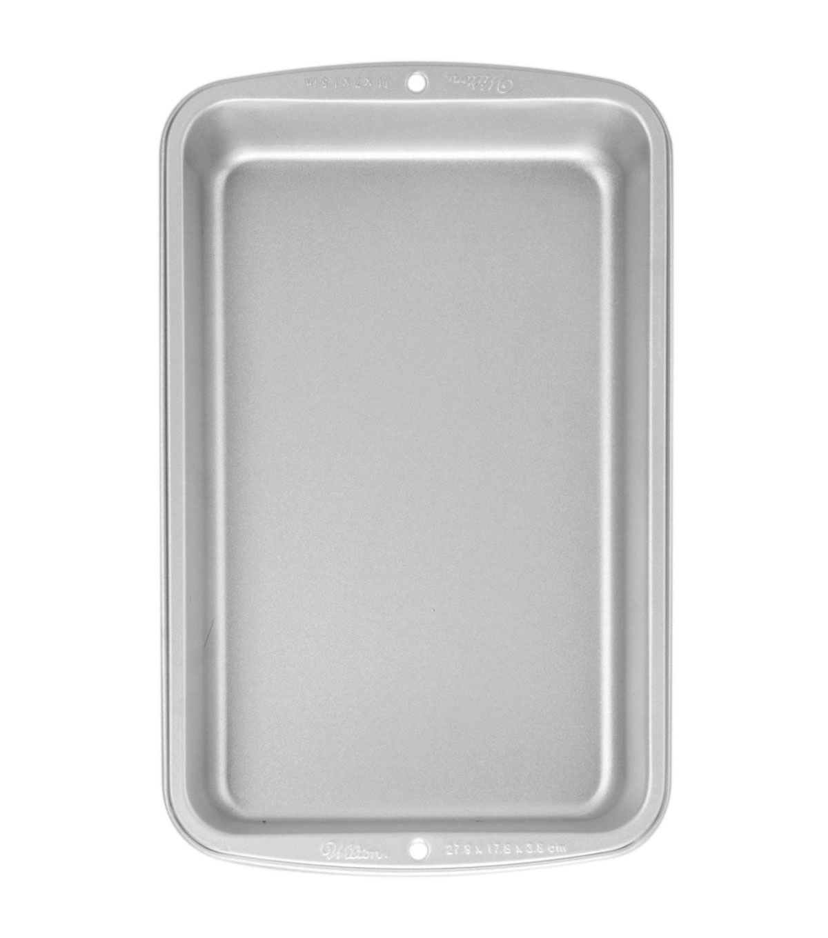 Wilton Recipe Right Biscuit/Brownie Pan 11\u0022X7\u0022-
