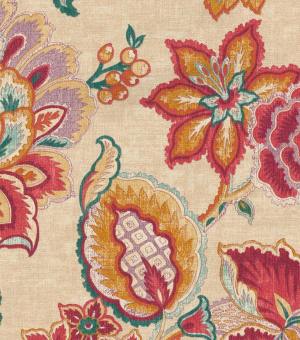 Waverly Upholstery Fabric 54\u0027\u0027-Masala Sri Lanka Rose