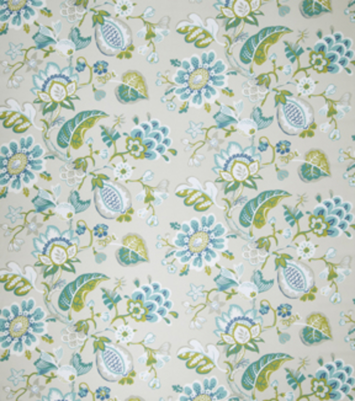 Home Decor 8\u0022x8\u0022 Fabric Swatch-Eaton Square Tweet Seaglass Floral