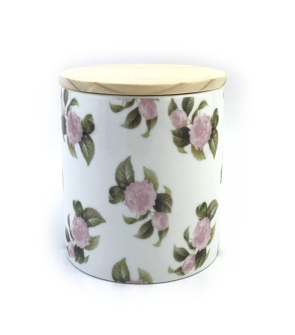 Simply Spring 15 oz. Jar Candle with Lid-Floral