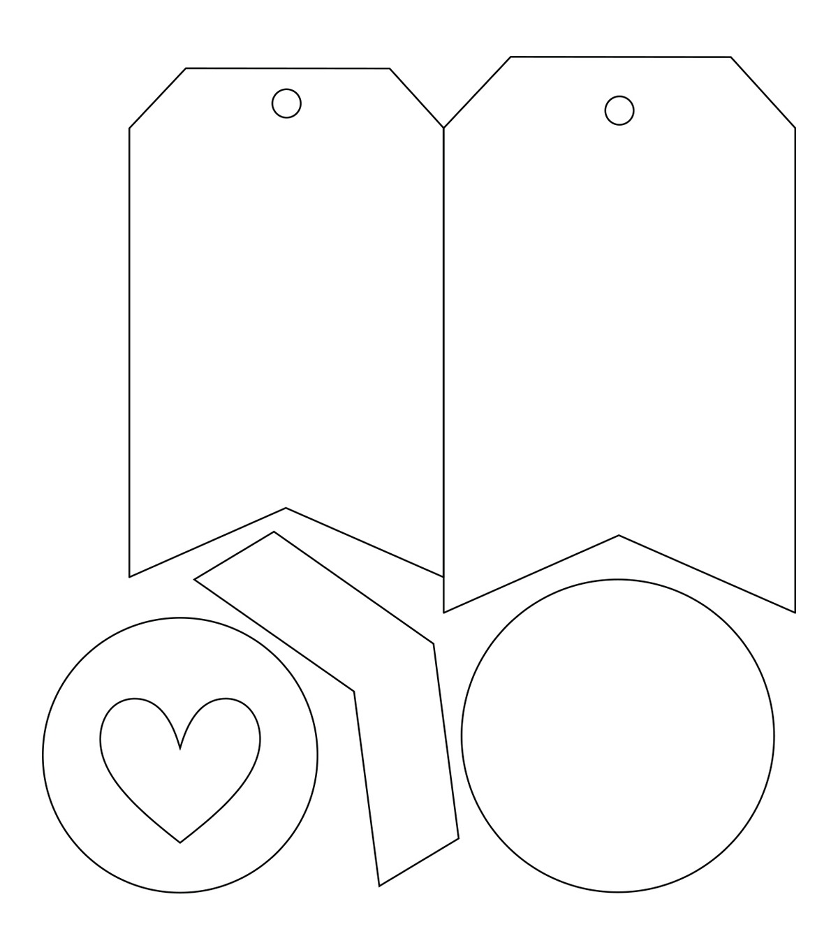 Sizzix Bigz Die with Embossing Folder-Made with Love Tag
