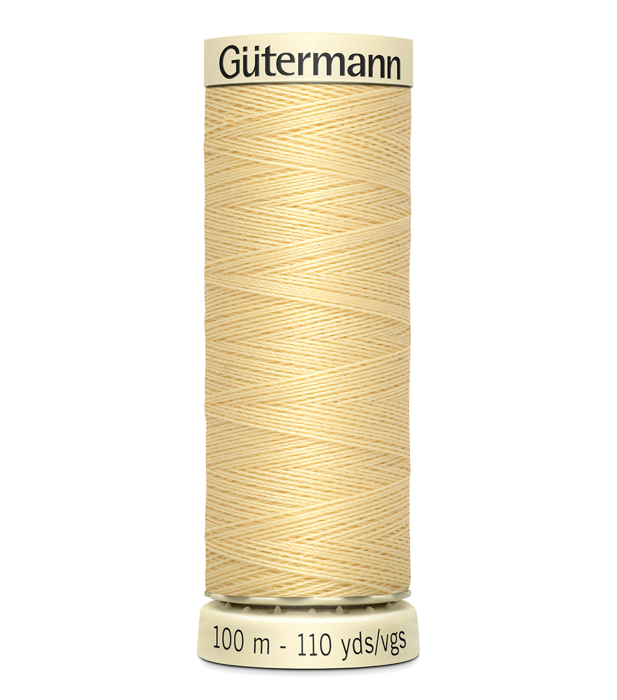 Gutermann Sew All Polyester Thread 110 Yards-Oranges & Yellows , Canary #815