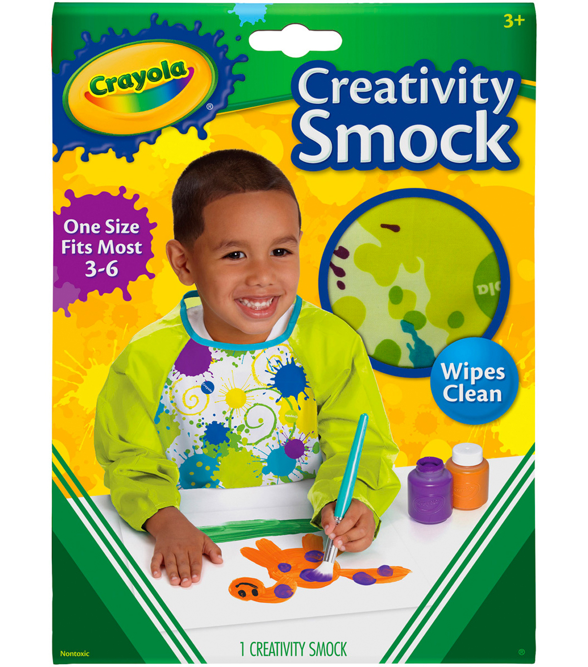Crayola Creativity Smock with Long Sleeves