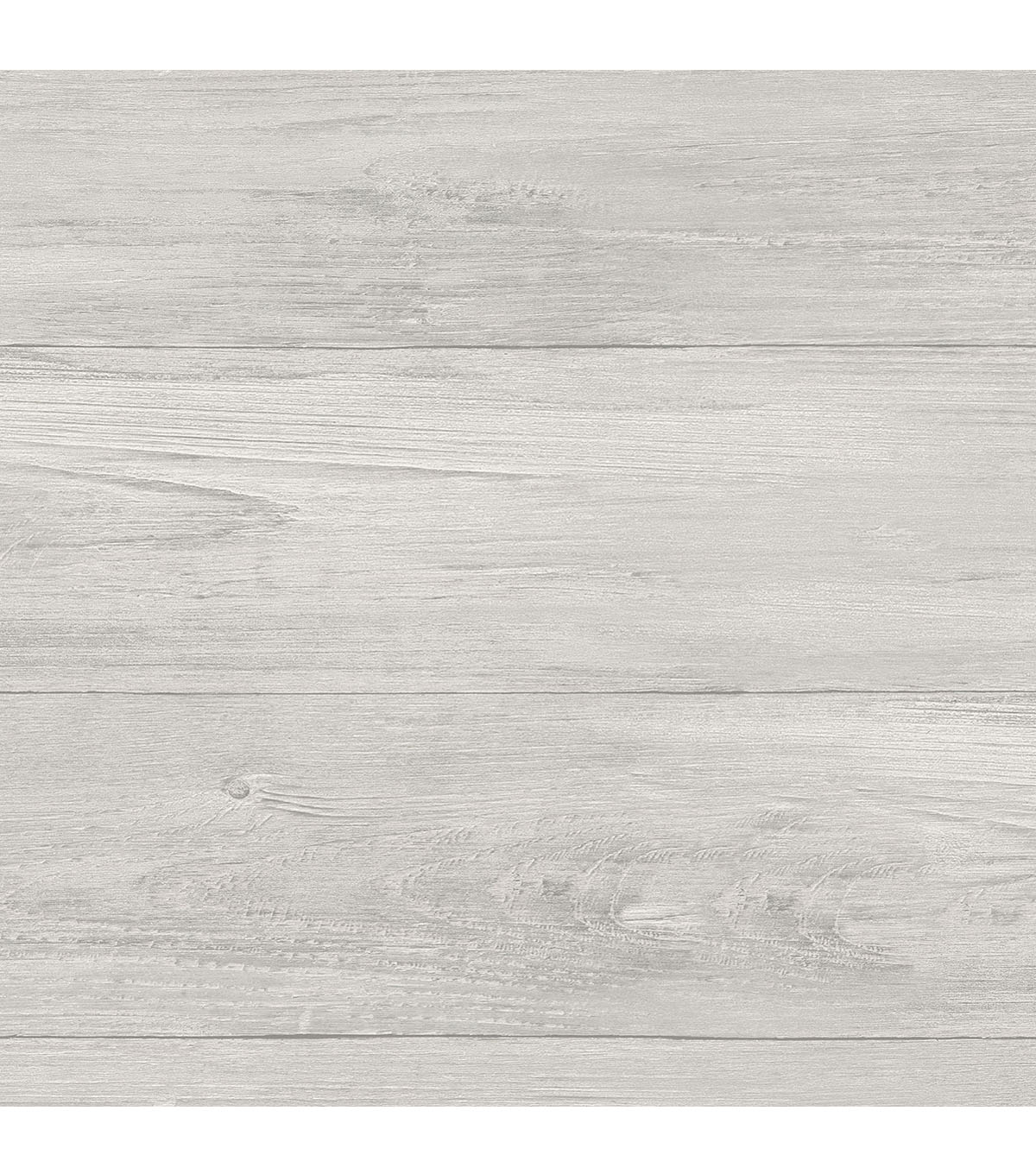 WallPops NuWallpaper Peel & Stick Wallpaper-Gray Wood Plank