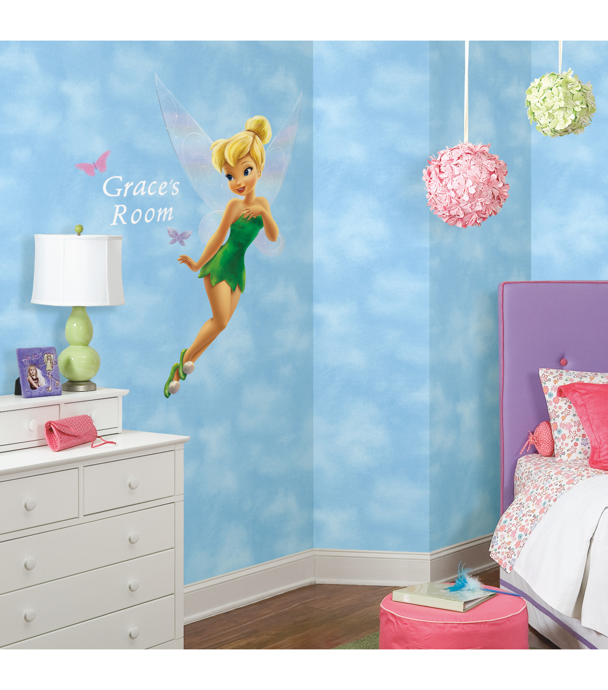 York Wallcoverings Wall Decals-Disney Fairies Tinkerbell Giant