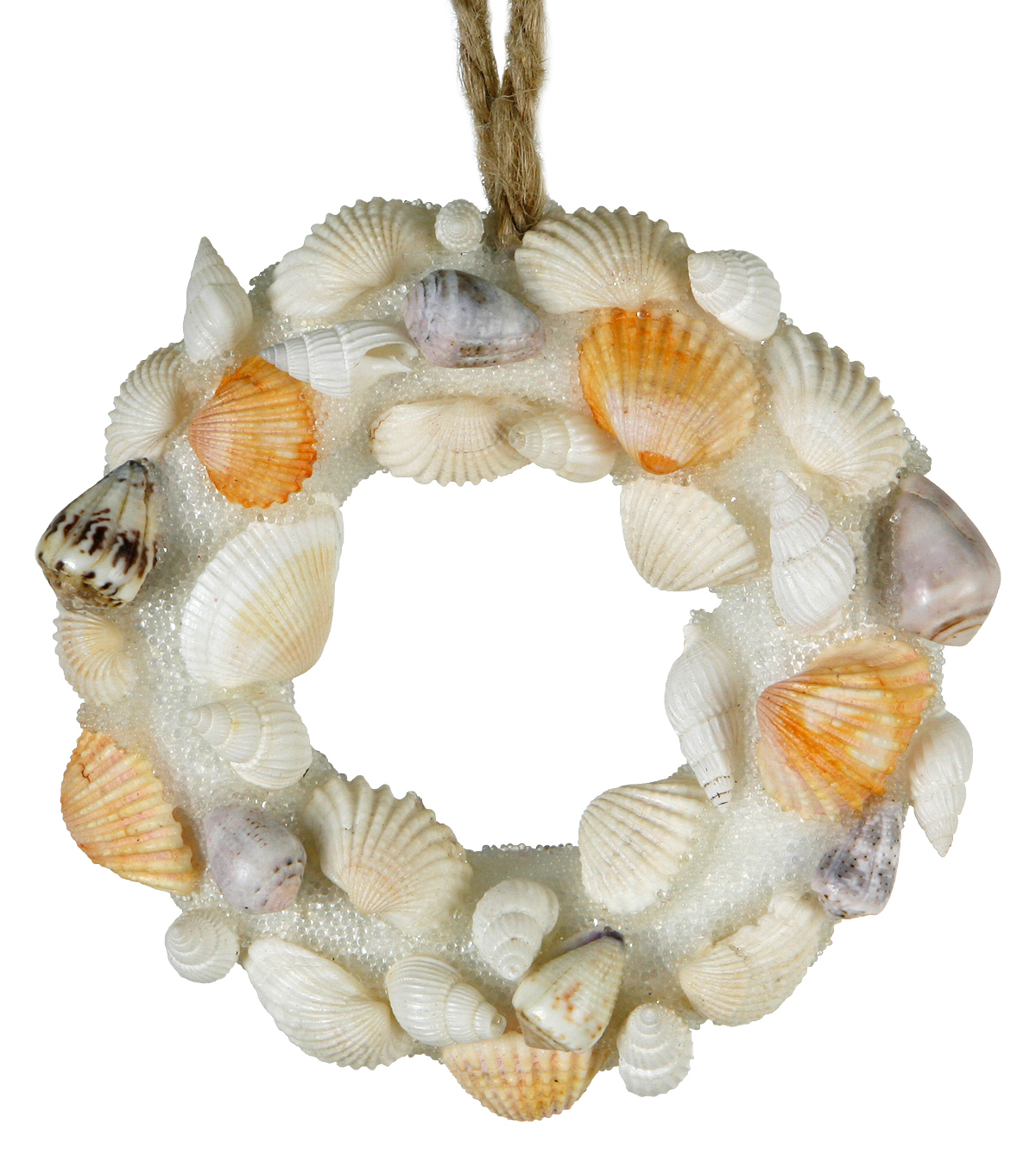 Maker\u0027s Holiday Christmas Beach Seashell Wreath Ornament