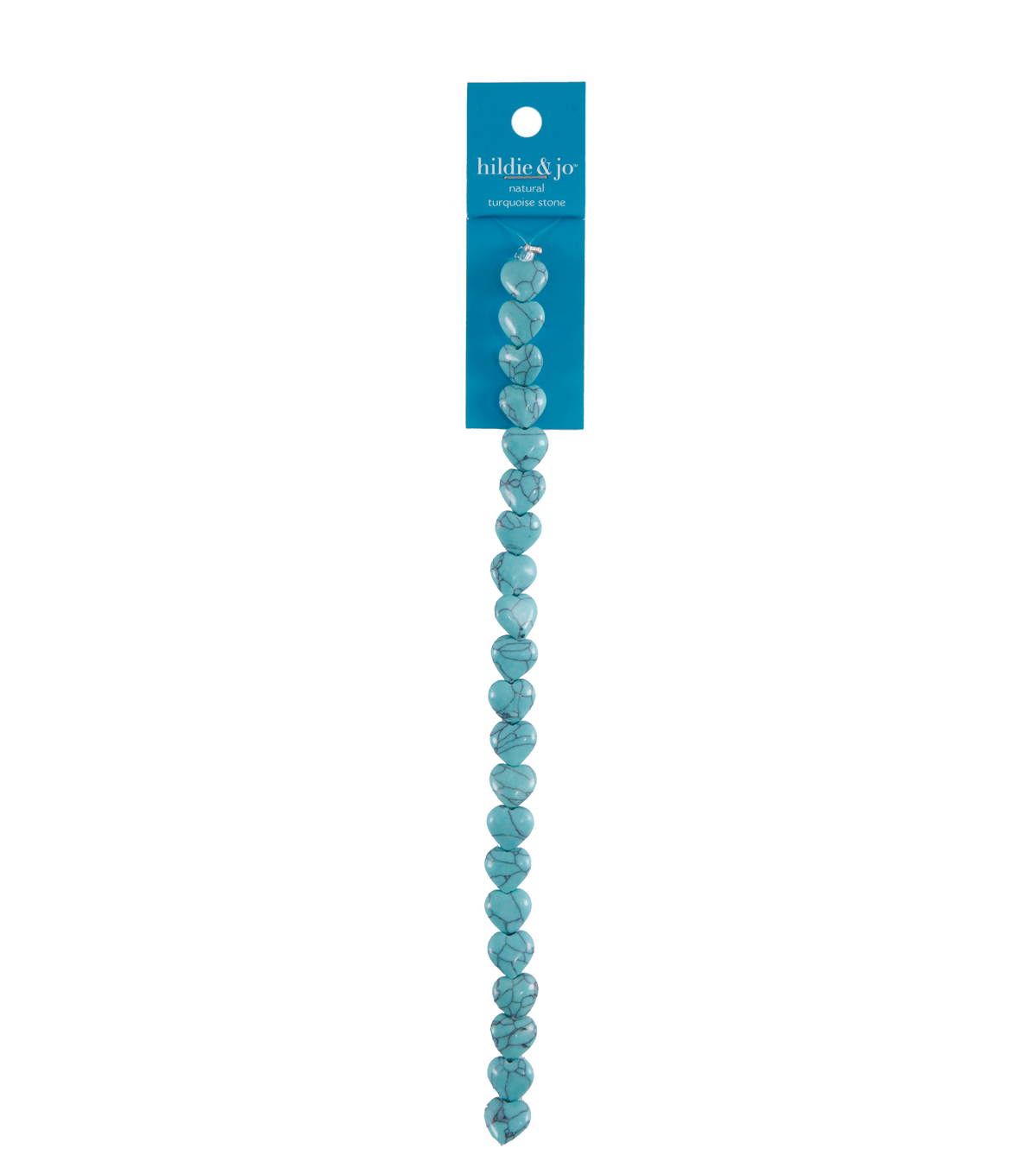 hildie & jo Valentine\u0027s Day Love Natural Turquoise Stone Strung Beads