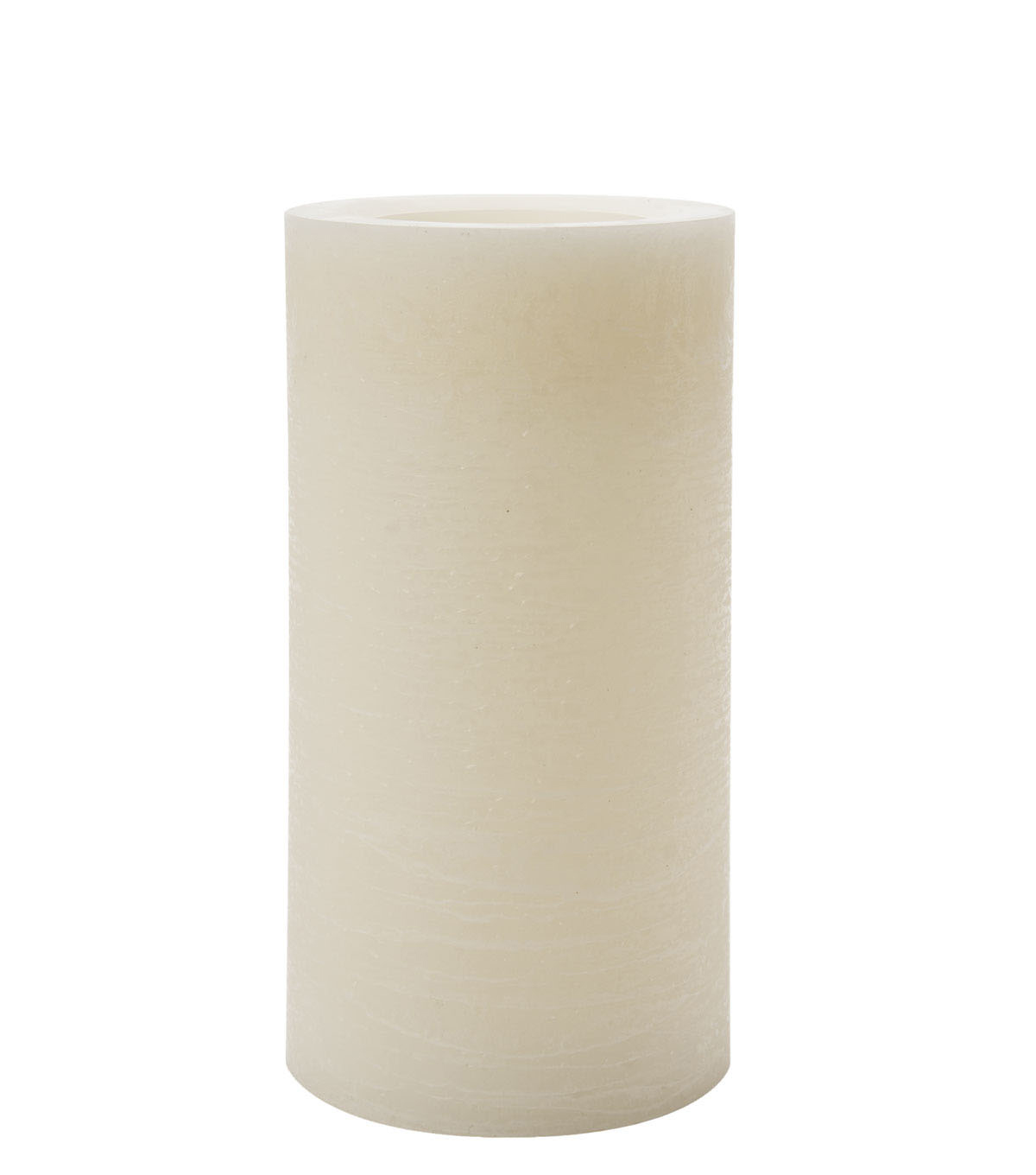 Hudson 43 Candle & Light Collection 4X8 Rustic Pillar With 5 Hour  Timer