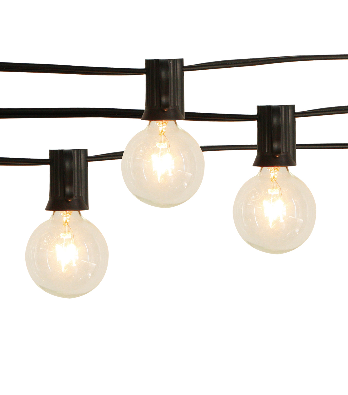 Hudson 43 Candle & Light Collection G40 Clear Bulb String Lights 20Ct