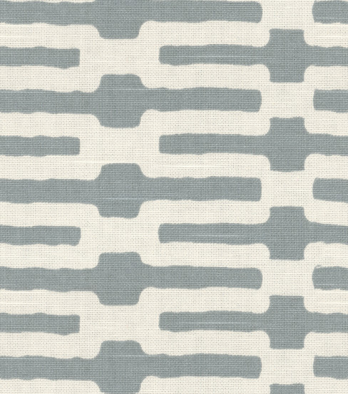 Home Decor Fabric-Annie Selke Links Slate